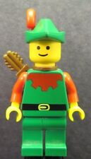 LEGO Castle Forestmen Forestman Red Quiver Red Plume cas323 Minifigure 1680