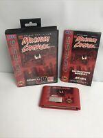Maximum Carnage (Sega Genesis) Complete CIB - Red Cartridge - Tested Vg Cond