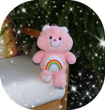 Pink Cheer Care Bear Plush 2018 Collectors Anniversary Design Stuffed Rainbow