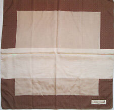 -Superbe Foulard  LOUIS FÉRAUD 100% soie  TBEG  vintage scarf