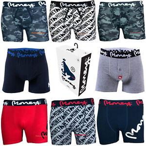 Money Mens Designer Boxer Shorts / Trunks - Assorted 6 Pack - All Sizes