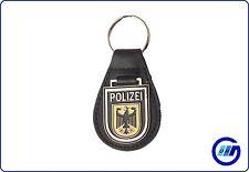 Schlüsselanhänger Bundespolizei Polizeiwappen POLIZEI