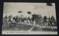 CPA 1910 COLONIES FRANCE INDOCHINE COCHINCHINE SAIGON PROCESSION ANNAMITE