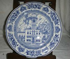 Yale - Wedgwood 1931 Collector Plate ~ Sheffield Hall 1839-1931 ~ Vgc ~
