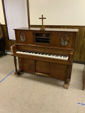 Universal Piano Company Player Piano - Used In The Church