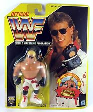 HBK Shawn Michaels WWF Hasbro MOC Action Figure Vintage Retro WWE Yellow Card