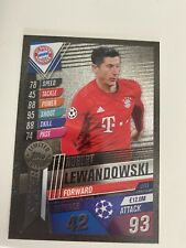 Match Attax 101 Silver Limited Edition Robert Lewandowski