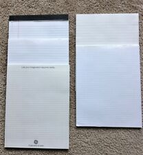 Nice! 5 Notepads Notebooks Letter Size Ruled Leeds Ge Souvenir Top Glued