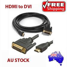 1M DVI HDMI TO HDMI DVI-D CABLE