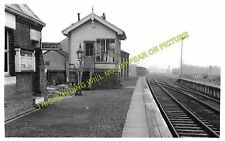 Old North Road Railway Station Photo. Gamlingay - Lord's Bridge. (7)