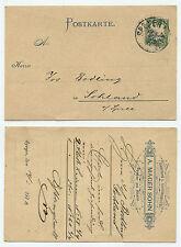 21978 - Postkarte - Speyer 14.1.1892 nach Sohland - Hemden-Fabrik Mager Sohn