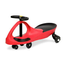 Kids Ride on Swing Car Safe and Enjoyable Pedal Design 110kg Capacity - Red