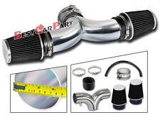BCP BLACK 01-04 Corvette C5 5.7 V8 Dual Twin Air Intake System + Filter