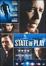 STATE OF PLAY (2009) DVD MOVIE *NEW* AUS EXPRESS