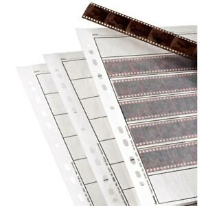Hama 35MM Negative Storage Pages 2251 - 100 Pack - German Made Glassine Sheets