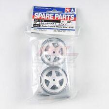 Tamiya 50673 1/10 RC Touring Car 5-Spoke 2-Piece Wide Wheels Set Spare Parts