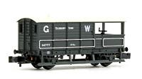 Graham Farish 377-375D N Gauge GWR 20T 'Toad' Brake Van GWR Grey