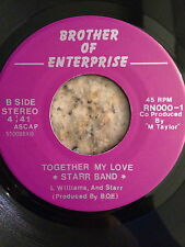 STARR BAND / TOGETHER MY LOVE / OBSCURE MODERN SOUL 45