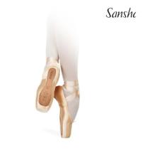 Sansha Prague pointe shoes -  UK 6XX - Sansha 10XX