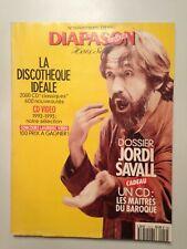 DIAPASON HARMONIE HORS SERIE N°19 1993 SPECIAL DISQUES COMPACTS / JORDI SAVALL