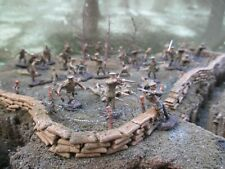 AIRFIX WW1 BRITISH INFANTRY WELL PAINTED AND DETAILED POSSIBLE WARGAMING