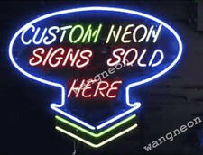 Largest Size Custom Neon Sign Beer Bar Light Design for you only, Full Satisfied