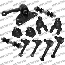 Front Steering Idler Arm Tie Rod End Ball Joint Set For 4WD Nissan D21 Pickup