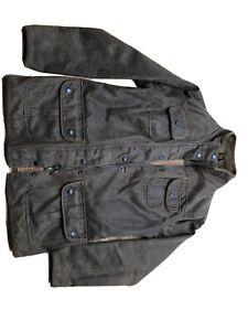 ladies barbour wax jacket size 14