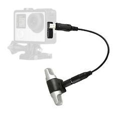 3,5 mm Stereo-externes Mikrofon + Umwandlungslinie für Hero 3 3+ 4