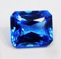 Natural Sapphire Loose Gemstone 11 Ct Ceylon Blue Emerald Certified