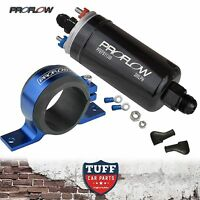 Proflow EFI 380LH 1000HP Fuel Pump + Blue Bracket E85 Compliant Bosch 044 style