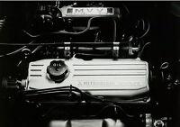 Mitsubishi Pressefoto Motor 12V 12 Valve engine 17,5x12,8 cm press photo Auto