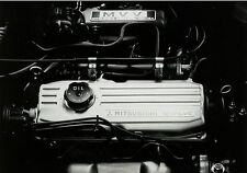 Pressefoto Mitsubishi Motor 12V 12 Valve engine 17,5x12,8 cm press photo Auto