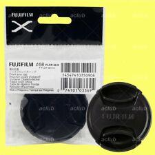 Genuine Fujifilm FLCP-58II Front Lens Cap 58mm Lens Dust Cover Protector