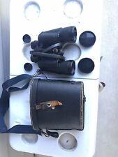 Vintage Mercury Binoculars No. 528 Field 5.5* 10 X 50 Original Case/Coated Lense