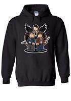 Supernatural Dean Sam & Cas Men Women Unisex Top Hoodie Sweatshirt 1945