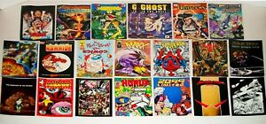 21 Ashcans From Wizard & Hero Magazine  All 9.8 NM/MT (1 Duplicate)