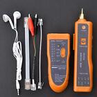 Network RJ45 / RJ11 Line Finder Cable Tracker Tester Sender Wire Tracer + Bag