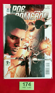 ⭐⭐C174 - Star Wars Comics Poe Dameron #1 Emerald City Comic Con Variant Marvel⭐⭐