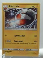 Electrode 22/68 Pokemon Hidden Fates Non-Holo Rare Lightning LP Used SeePictures