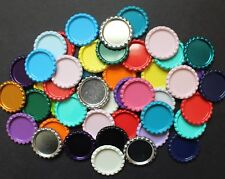 "Lot of 25 1"" Flattened Bottle Caps for Crafts and Bottle Cap Projects"
