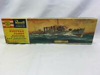 Revell H-317 H.M.S. Campbeltown Vintage 1960 Complete Kit With Stamp
