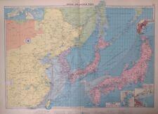 Chinese And Japanese Ports, 1952, Mercantile Marine Atlas, Philip
