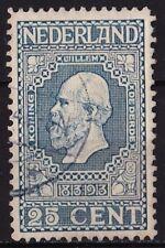 1913 jubileumzegels 100 jaar onafhankelijkheid 25 cent blauw 11½ x 11 NVPH 96 A