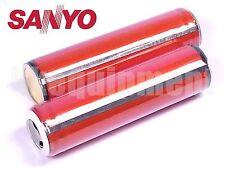 Sanyo UR18650FM 18650 2600 mAh Li-ion 3.7v Rechargeable Protected PCB Battery x2