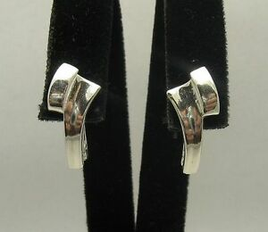 New Stylish Sterling Silver Earrings Genuine Solid 925 New Nickel Free Empress