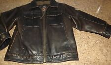 Hawke $ CO. Faux Leather Bomber Jacket Toddlers size 4