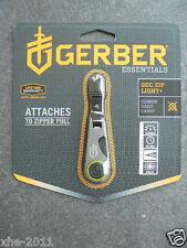 Gerber GDC 8 Lumens Super Bright LED Keychain Zip Light + Tool Bottle Opener1745