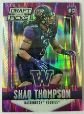 2015 Panini Prizm Draft Picks Panthers Shaq Thompson Purple #'d /99 SP Rookie RC