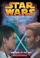 Star Wars Jedi Quest The Trail Of The Jedi Paperback Book Novel Jude Watson